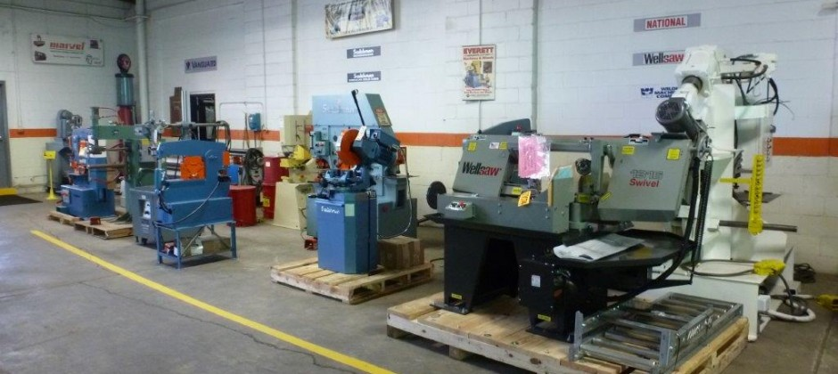 Full Service New & Used Machine Tool Sales