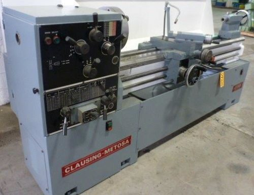 CLAUSING METOSA GAP BED ENGINE LATHE – 29328