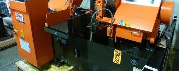 COSEN FULLY PROGRAMMABLE AUTOMATIC FEED HORIZONTAL BAND SAW - 29602