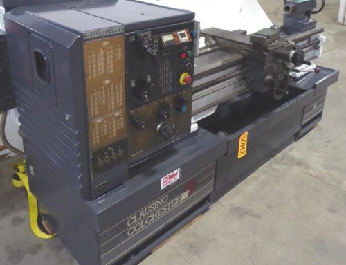 CLAUSING COLCHESTER GEARED HEAD ENGINE LATHE – 30142