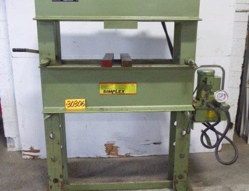 SIMPLEX H-FRAME HYDRAULIC PRESS – 30306