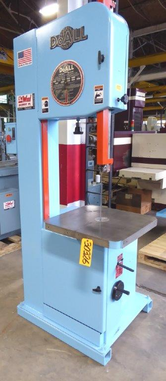 DOALL VERTICAL BAND SAW – 30326