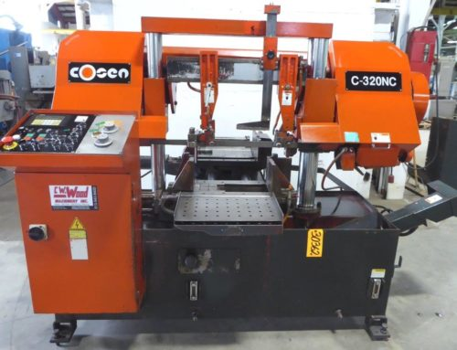 COSEN PROGRAMMABLE DUAL COLUMN AUTOMATIC BAND SAW – 30362
